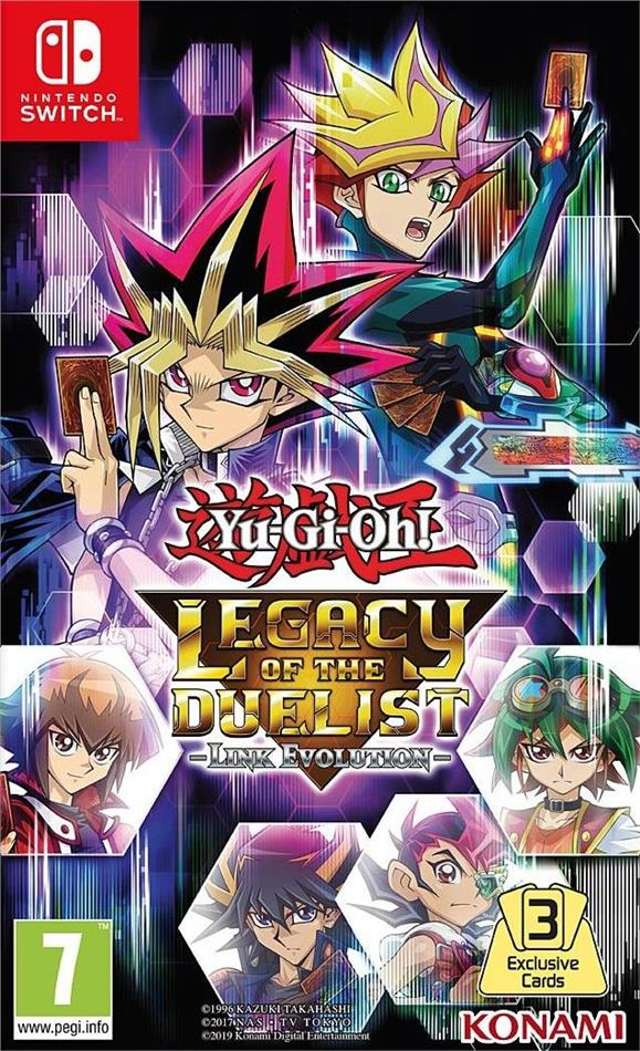 Yu-Gi-Oh! Legacy of the Duelist - Link Evolution