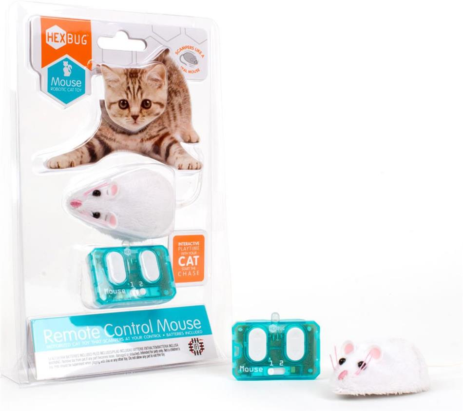 Hexbug Mouse Cat Toy R/C - Mouse with remote control