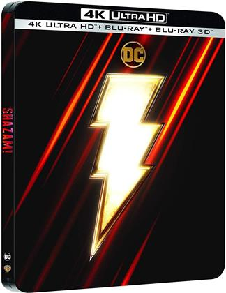 Shazam! (2019) (Limited Edition, Steelbook, 4K Ultra HD + Blu-ray)