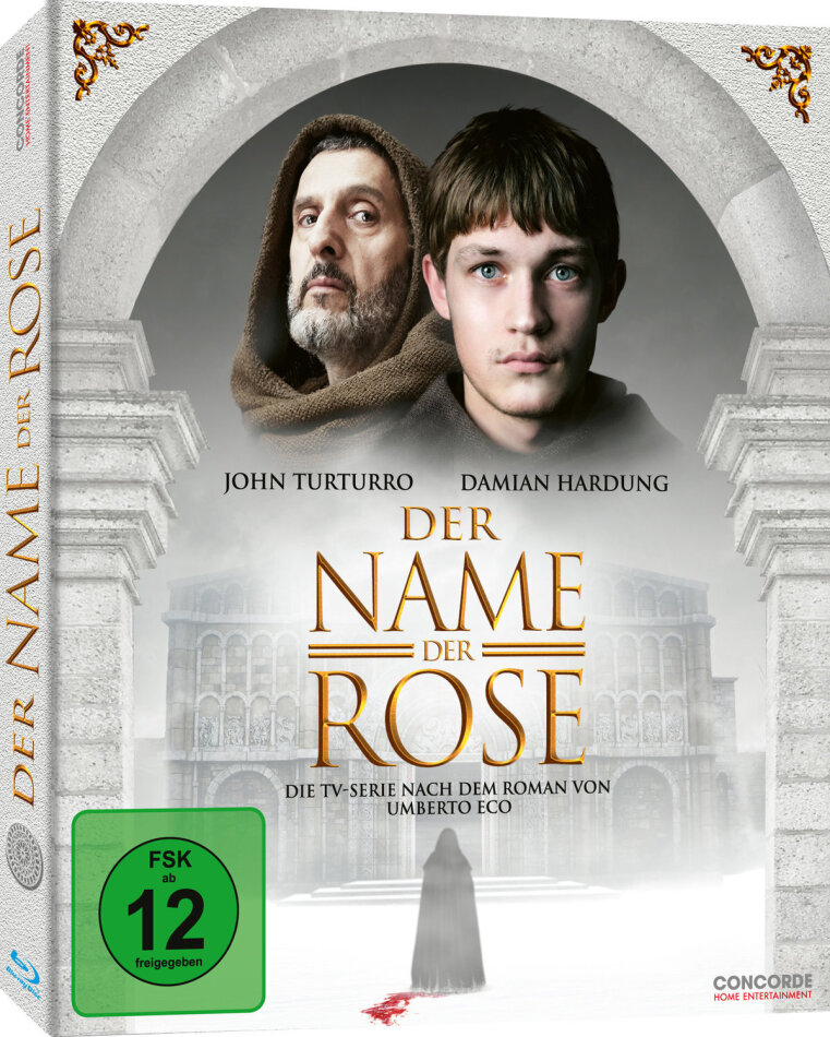 Der Name der Rose - Staffel 1 (Digipack, 2 Blu-rays)