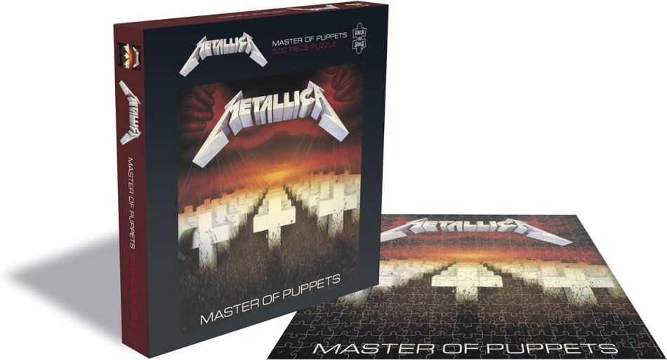 Metallica - Master Of Puppets Rock Music Puzzle