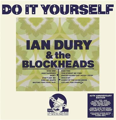 Ian Dury - Do It Yourself (2019 Reissue, 40th Anniversary Edition, 2 CDs + LP + DVD)