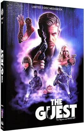 The Guest (2014) (Cover A, Limited Edition, Mediabook, Blu-ray + DVD)