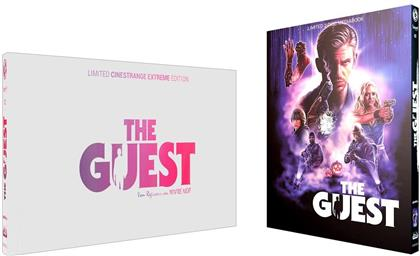 The Guest (2014) (Wattiert, Cover Q, Limited Cinestrange Extreme Edition, Limited Edition, Mediabook, Blu-ray + DVD)