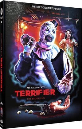 Terrifier - The Beginning (2013) (Cover A, Limited Edition, Mediabook, Blu-ray + DVD)