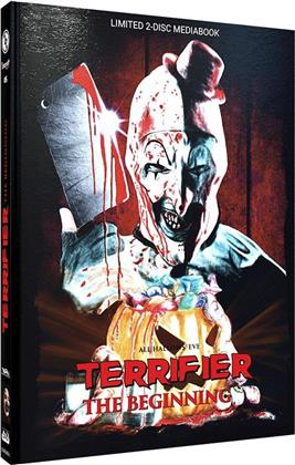 Terrifier - The Beginning (2013) (Cover C, Limited Edition, Mediabook, Blu-ray + DVD)