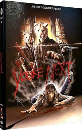 You're Next (2011) (Cover A, Limited Edition, Mediabook, Blu-ray + DVD)