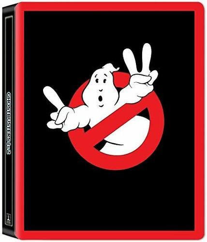 Ghostbusters 1+2 (35th Anniversary Edition, Limited Edition, Steelbook, 2 4K Ultra HDs + 2 Blu-rays)