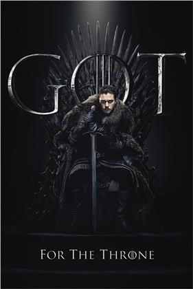 Game Of Thrones - Jon For The Throne Maxi Poster