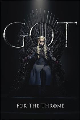 Game Of Thrones - Daenerys For The Throne Maxi Poster