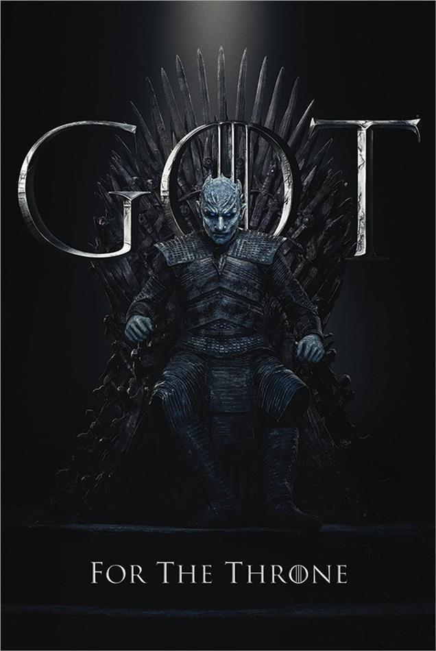 Game Of Thrones - The Night King For The Throne Maxi Poster