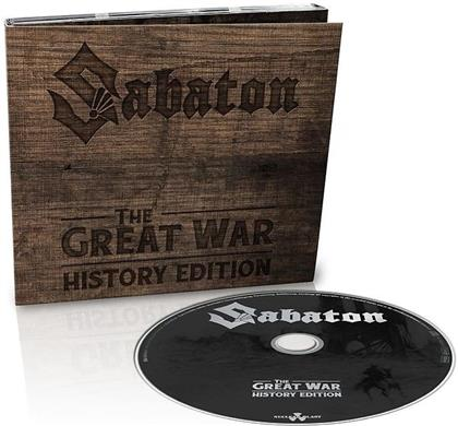 Sabaton - The Great War (History Edition, Digipack, incl. Narrations, Limited Edition)