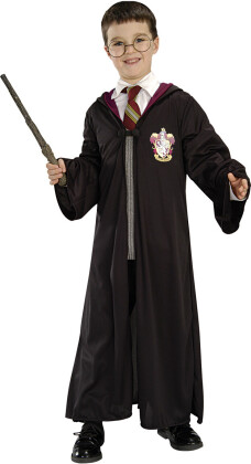 Harry Potter Set - 3-teilig, Robe, Brille und