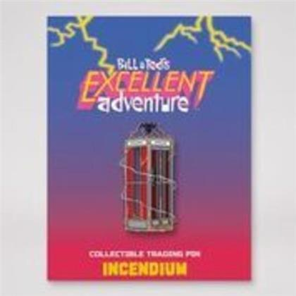 Bill & Ted - Phone Booth Lapel Pin