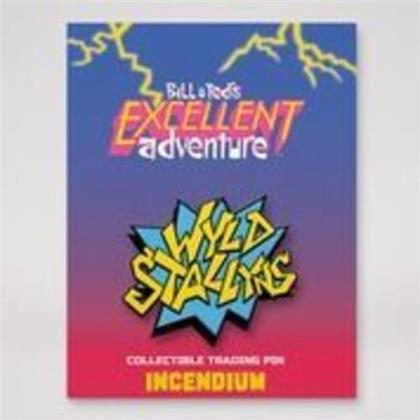 Bill & Ted - Wyld Stallyns Lapel Pin