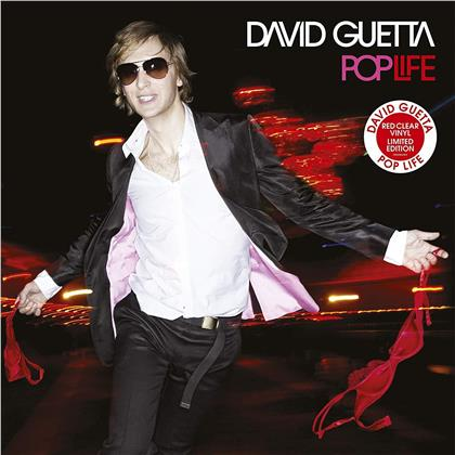 David Guetta - Pop Life (2019 Reissue, Limited Edition, Red Clear Vinyl, 2 LPs)