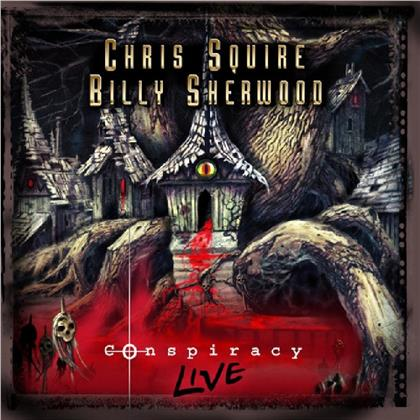 Chris Squire & Billy Sherwood - Conspiracy Live (2019 Reissue, Remastered, CD + DVD)