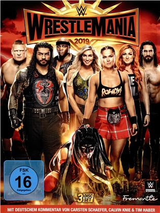 WWE: Wrestlemania 35 (3 DVDs)