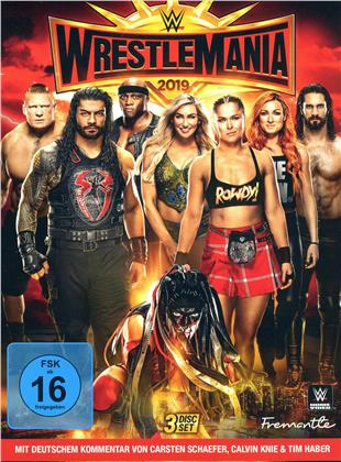 WWE: Wrestlemania 35 (Bonus Edition, 4 DVDs)