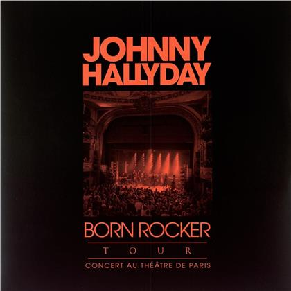 Johnny Hallyday - Born Rocker Tour (2019 Reissue, finlandia, Limited Edition, Red Vinyl, 2 LPs)