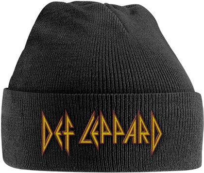 Def Leppard - Red/Yellow Logo (Embroidered)