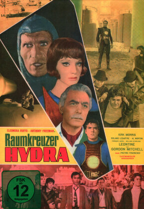 Raumkreuzer Hydra (1966) (Cover B, SciFi Classic, Kleine Hartbox, Limited Edition)
