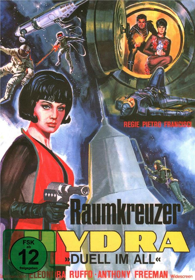 Raumkreuzer Hydra - Duell im All (1966) (Cover A, Kleine Hartbox, Sci-Fi & Horror Classics, Limited Edition)