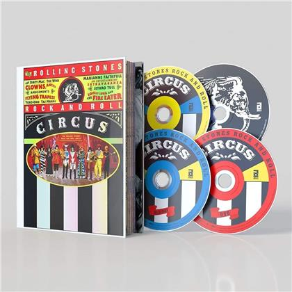 The Rolling Stones - Rock And Roll Circus (Edizione Limitata, Mediabook, Blu-ray + DVD + 2 CD)