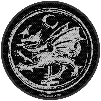 Cradle Of Filth Standard Patch - Order of the Dragon (Loose)