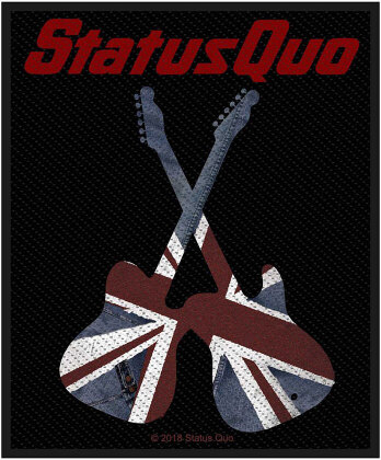 Status Quo Standard Patch - Guitars (Loose)