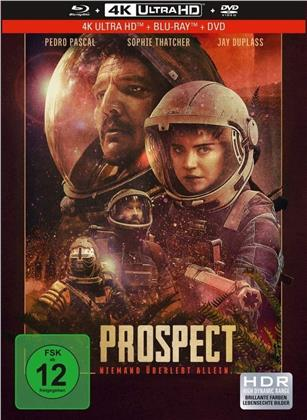 Prospect (2018) (Limited Collector's Edition, Mediabook, 4K Ultra HD + Blu-ray + DVD)