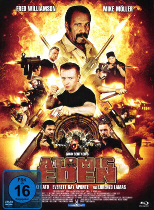 Atomic Eden (2015) (Cover A, Limited Edition, Mediabook, Uncut, Blu-ray + DVD)