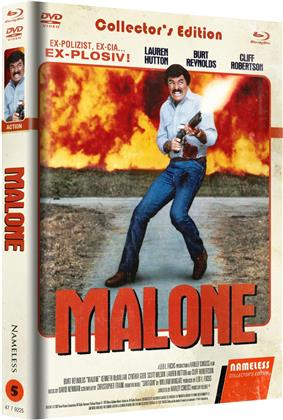 Malone (1987) (Cover C, Limited Edition, Mediabook, Uncut, Blu-ray + DVD)