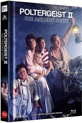 Poltergeist 2 - Die andere Seite (1986) (Cover B, Limited Edition, Mediabook, Blu-ray + DVD)