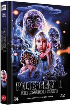Poltergeist 2 - Die andere Seite (1986) (Cover C, Limited Edition, Mediabook, Blu-ray + DVD)