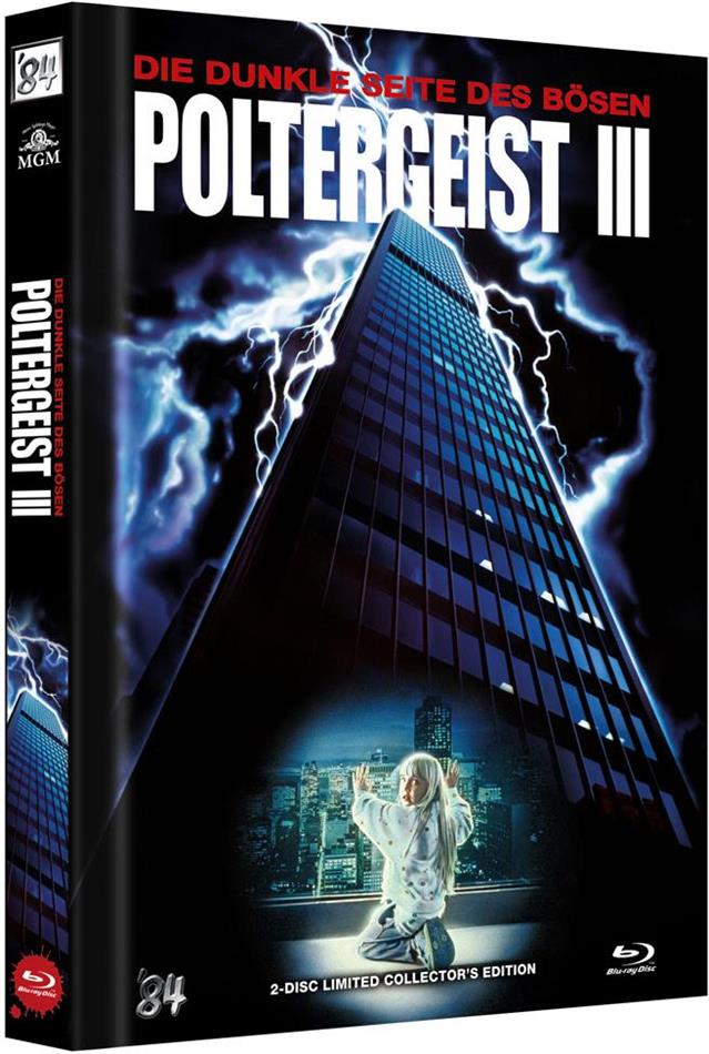Poltergeist 3 - Die dunkle Seite des Bösen (1988) (Cover A, Limited Collector's Edition, Mediabook, Uncut, Blu-ray + DVD)