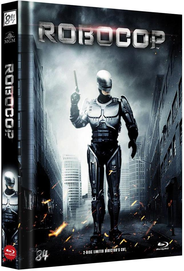 Robocop (1987) (Cover B, Director's Cut, Limited Edition, Mediabook, Blu-ray + DVD)