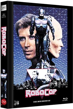 Robocop (1987) (Cover C, Director's Cut, Limited Edition, Mediabook, Blu-ray + DVD)
