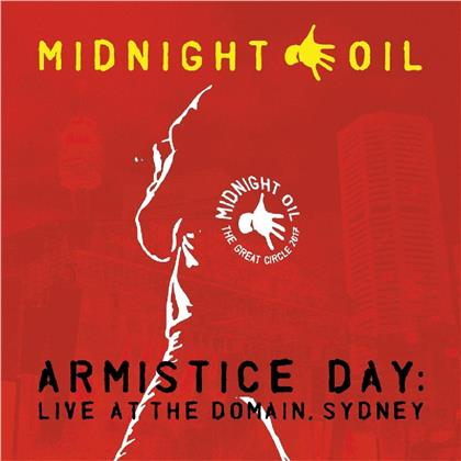 Midnight Oil - Armistice Day: Live At The Domain Sydney (Music On Vinyl, Gatefold, Papersleeve Limited Edition, Limited Edition, Red Vinyl, 3 LPs)