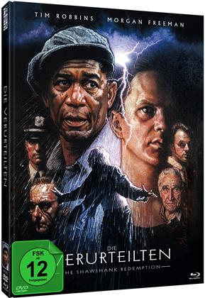Die Verurteilten - The Shawshank Redemption (1995) (Cover B, 25th Anniversary Edition, Limited Edition, Mediabook, Blu-ray + DVD)