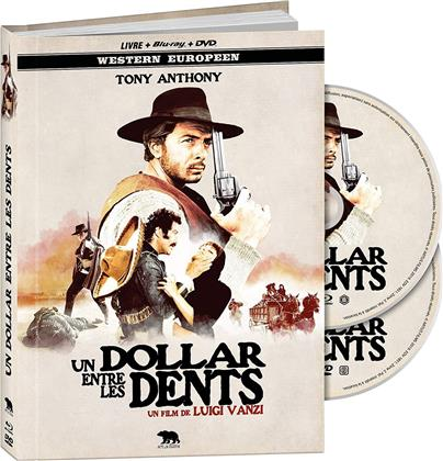Un dollar entre les dents (1967) (Western Europeen, Mediabook, Blu-ray + DVD)