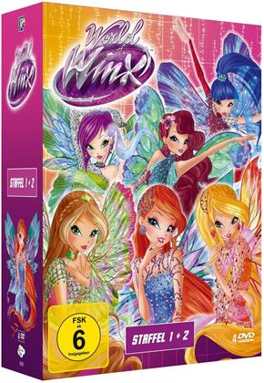 World Of Winx - Staffel 1 & 2 (4 DVDs)