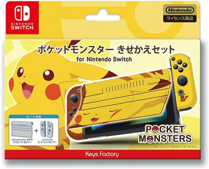 POKEMON PROTECTOR SET FOR NINTENDO SWITCH (PIKACHU)