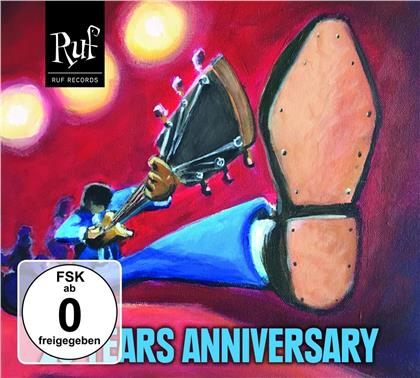 Ruf Records - 25 Years Anniversary (CD + DVD)