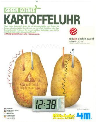 Green Science - Kartoffeluhr