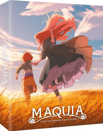 Maquia - When the promised flower blooms (2018) (Collector's Edition, Blu-ray + DVD)