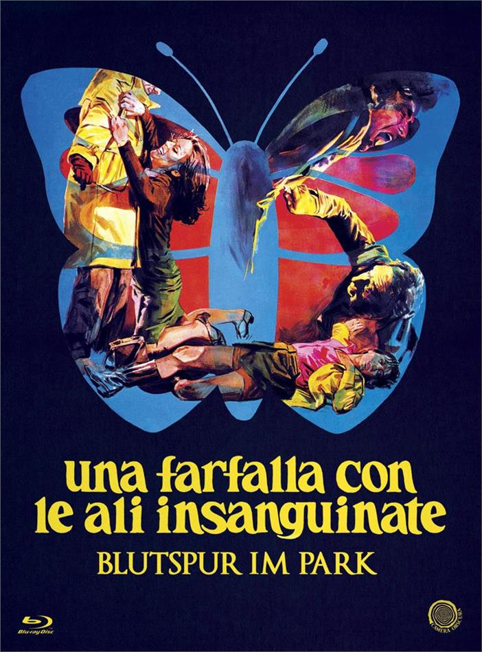 Una farfalla con le ali insanguinate - Blutspur im Park (1971) (Italian Genre Cinema Collection, Digibook, Edizione Limitata, Blu-ray + DVD)