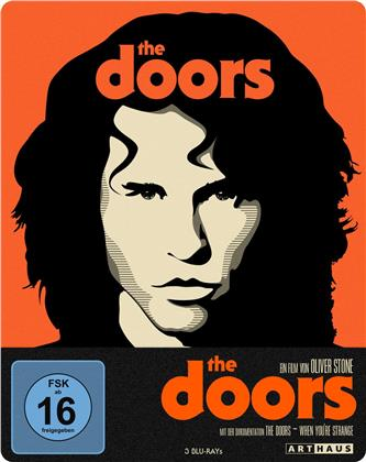 The Doors (1991) (Arthaus, 4K Mastered, Edizione Limitata, Steelbook, 3 Blu-ray)