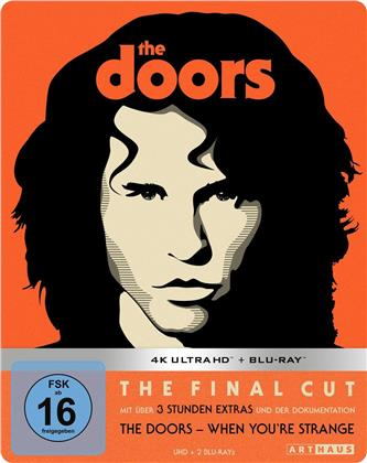 The Doors (1991) (Edizione Limitata, Steelbook, 4K Ultra HD + Blu-ray)