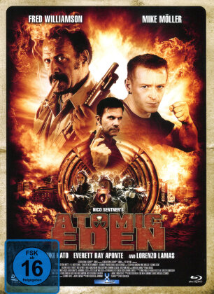 Atomic Eden (2015) (Cover B, Limited Edition, Mediabook, Uncut, Blu-ray + DVD)
